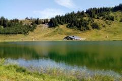 Lac de l'Airon et lac de Vernant