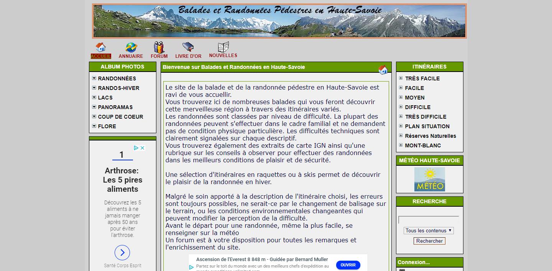 Balades et randonnées pédestres en Haute Savoie