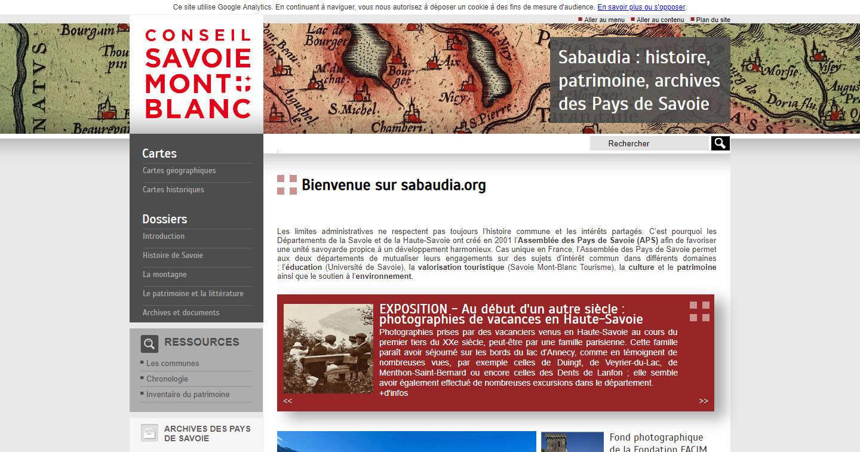 Sabaudia – histoire et patrimoine de Haute Savoie